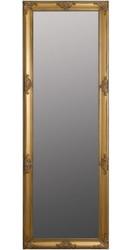 Casa Padrino Barock Wandspiegel Gold 65 x H. 190 cm - Handgefertigter Barock Spiegel mit Holzrahmen und wunderschönen Verzierungen