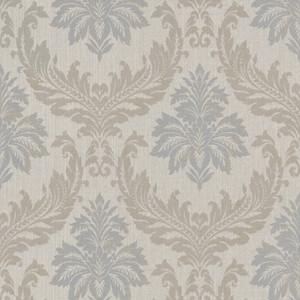 Casa Padrino Barock Textiltapete / Stofftapete Mehrfarbig - 10,05 x 0,53 m - Tapete mit Vlies Struktur  – Bild 1