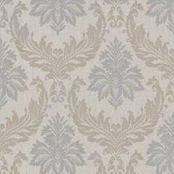 Casa Padrino Baroque Textile Wallpaper / Fabric Wallpaper Multicolor - 10.05 x 0.53 m - Wallpaper with Fleece Structure