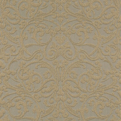 Casa Padrino Baroque Textile Wallpaper Brown / Gold - 10.05 x 0.53 m - Fabric Wallpaper with Textured Surface