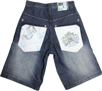 Southpole Hip Hop Short - Kurze Jeans Hose Blau - Shorts South Pole – Bild 1