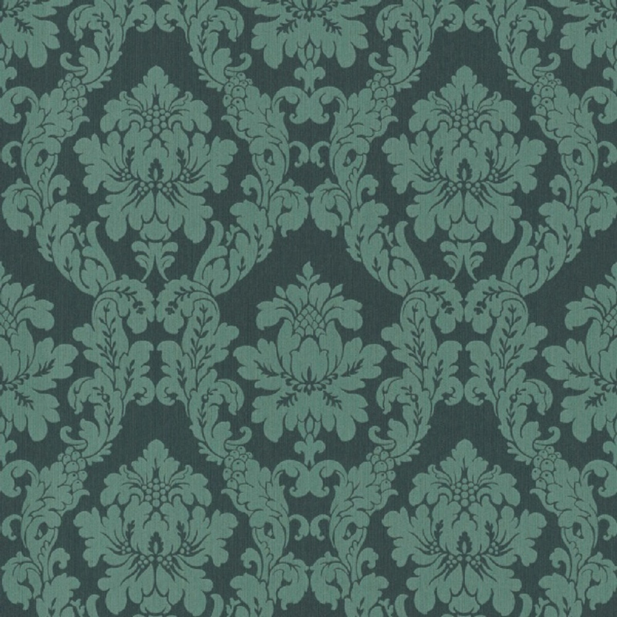 Casa Padrino Baroque Textile Wallpaper Green