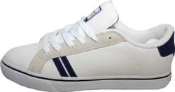 Emerica Skateboard Schuhe Leo SMU White / Grey / Navy - Sneaker Sneakers Skateboard Shoes 001