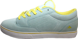 Emerica Skateboard Schuhe Jinx SMU Light Blue - Sneaker Sneakers Skateboard Shoes 001
