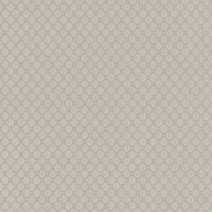 Casa Padrino Luxus Stofftapete Creme / Grau / Silber - 10,05 x 0,53 m - Textiltapete mit leicht strukturierter Oberfläche