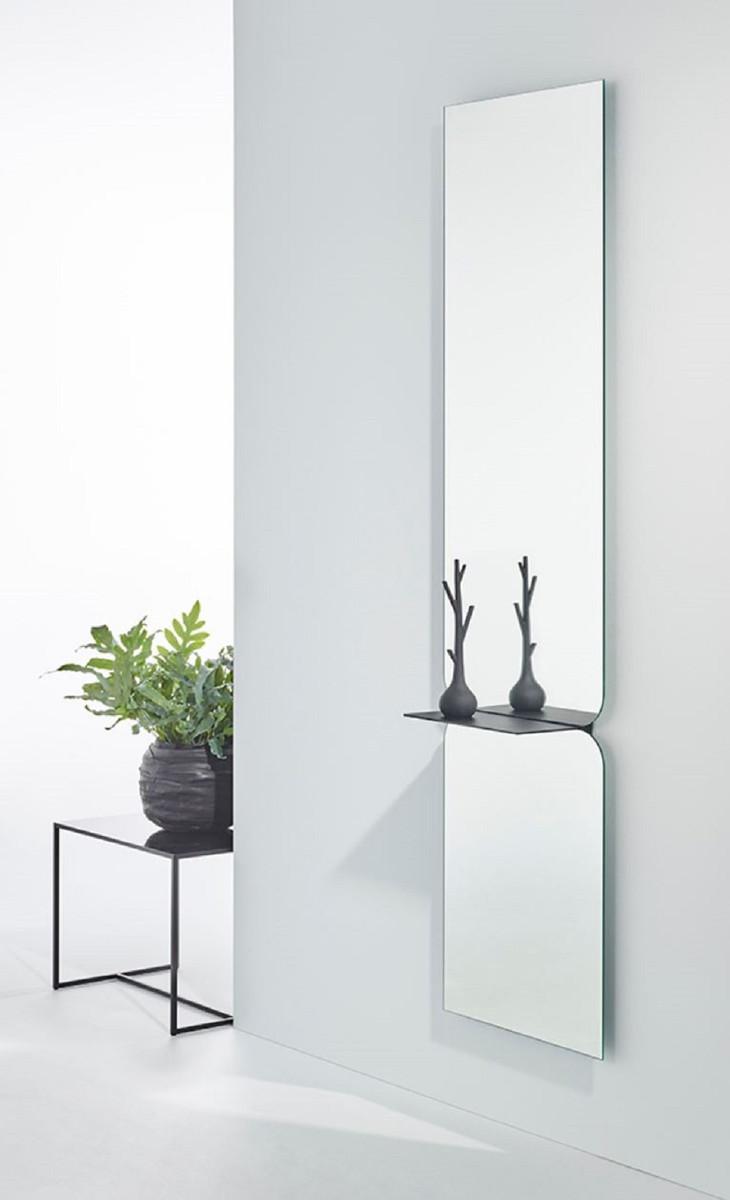 Casa Padrino Specchio di Lusso Nero 47 x H. 180 cm - Specchio da ...