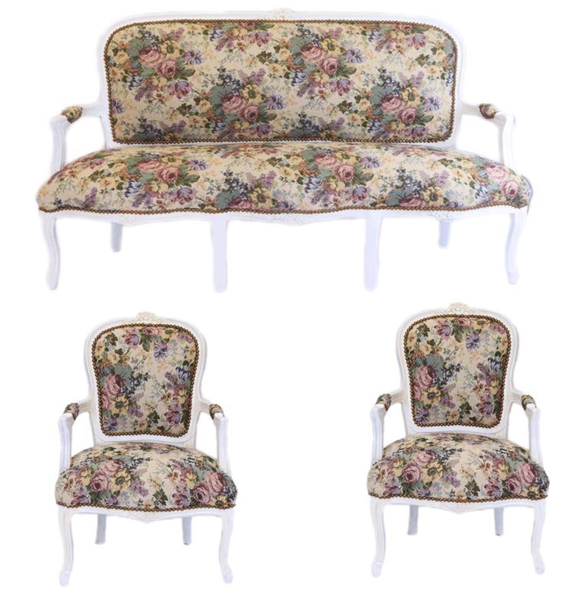 barock wohnzimmer sets aus dem hause casa padrino barock m bel luxus f r ihren salon barock. Black Bedroom Furniture Sets. Home Design Ideas