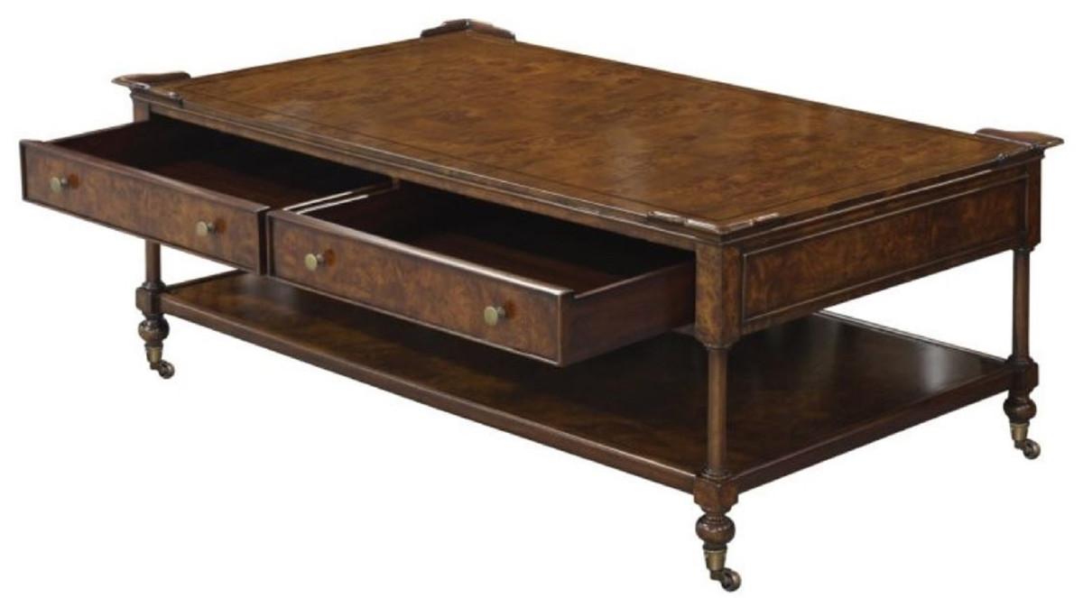 - Casa Padrino Luxury Art Nouveau Coffee Table Brown 125 X 81 X H