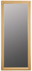 Casa Padrino Baroque Living Room Wall Mirror Antigue Gold 72 x H. 162 cm - Handcrafted Mirror in Baroque Style