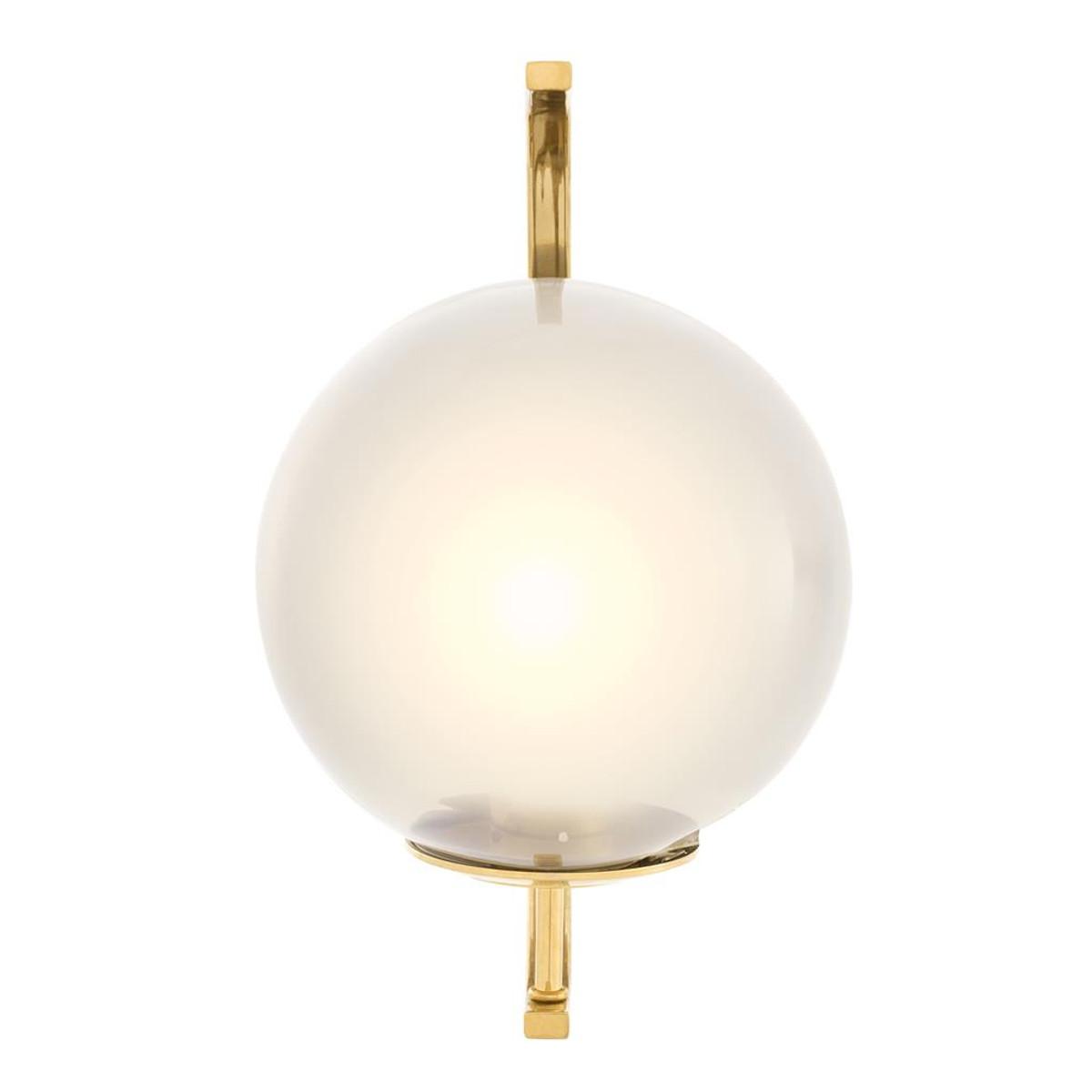 Casa Padrino Lampada Da Parete Per Soggiorno Di Design Oro 20 X 30 X H 32 Cm Mobili Di Design Casa Padrino De