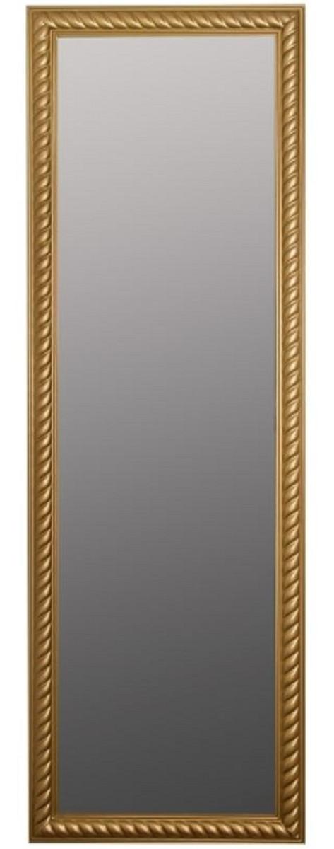 Casa Padrino Barock Spiegel / Wandspiegel Antik Gold 62 x H. 187 cm - Barockmöbel 1