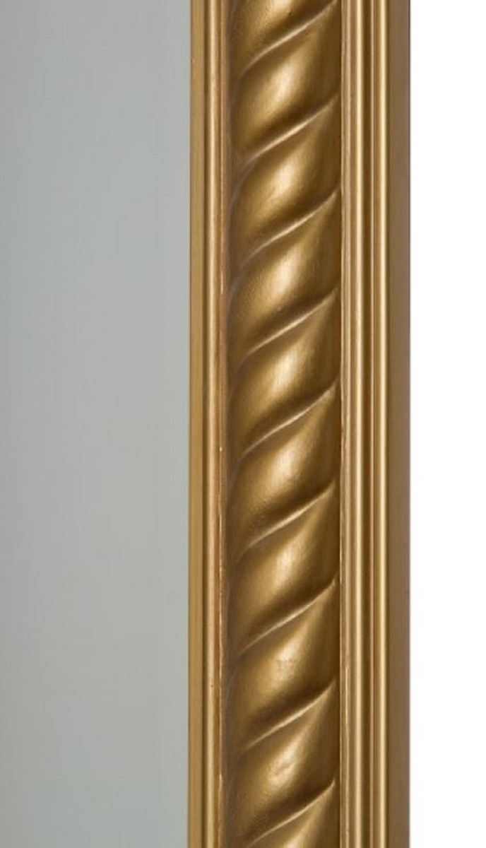 Casa Padrino Barock Spiegel / Wandspiegel Antik Gold 62 x H. 187 cm - Barockmöbel 2