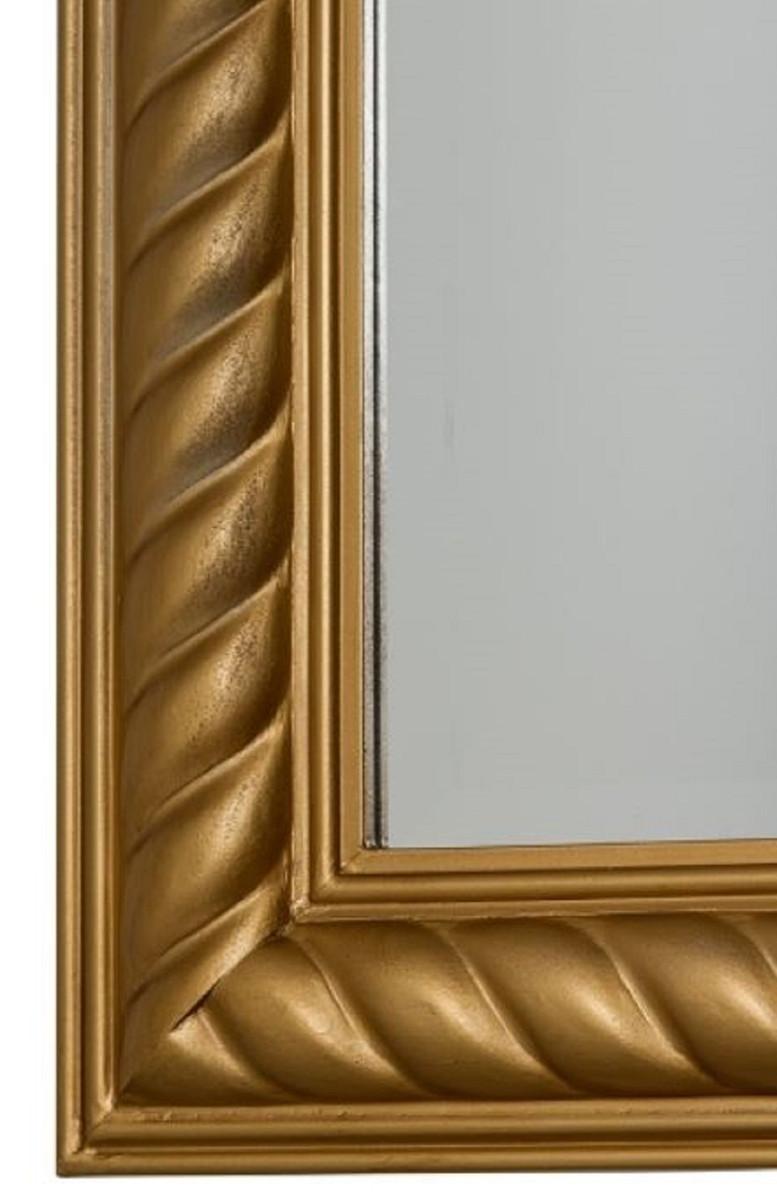 Casa Padrino Barock Spiegel / Wandspiegel Antik Gold 62 x H. 187 cm - Barockmöbel 3