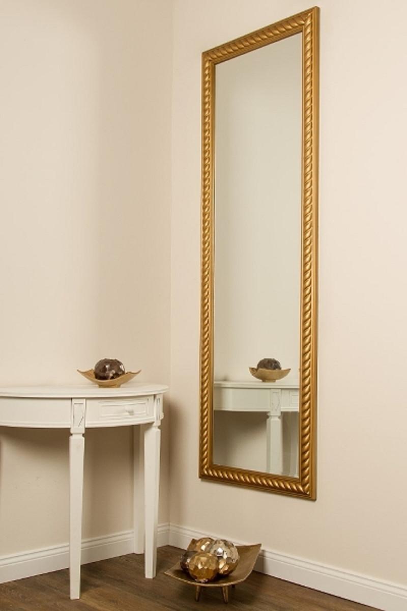 Casa Padrino Barock Spiegel / Wandspiegel Antik Gold 62 x H. 187 cm - Barockmöbel 4