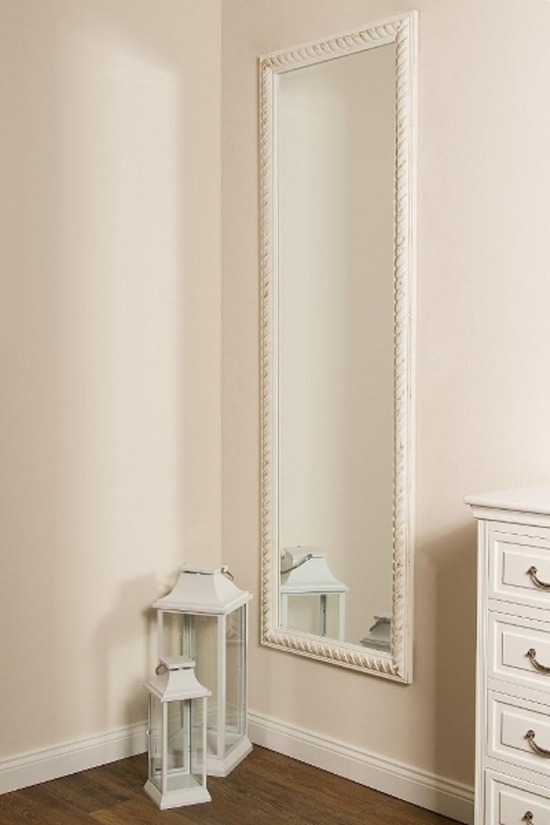 casa padrino barock wandspiegel antik wei gold 62 x h 187 cm barock spiegel spiegel barock. Black Bedroom Furniture Sets. Home Design Ideas