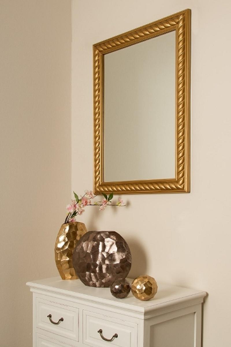 Casa Padrino Barock Spiegel / Wandspiegel Antik Gold 62 x H. 82 cm - Möbel im Barockstil 4