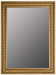 Casa Padrino Baroque Mirror / Wall Mirror Antique Gold 62 x H. 82 cm - Furniture in Baroque Style
