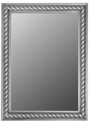 Casa Padrino Baroque Mirror / Wall Mirror Antique Silver 62 x H. 82 cm - Furniture in Baroque Style