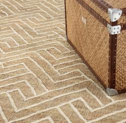 Casa Padrino Luxury Living Room Carpet Natural / White 300 x 400 cm - Luxury Collection
