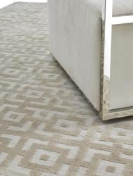 Casa Padrino luxury carpet ivory color 170 x 240 cm - Living Room Carpet