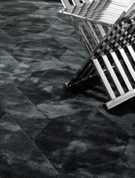 Casa Padrino Luxury Living Room Carpet Black - Various Sizes - Hand Woven Luxury Rayon Carpet