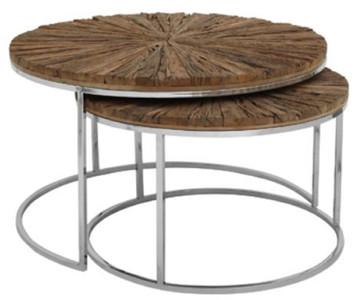 Table D Appoint Casa.Casa Padrino Ensemble De Table D Appoint De Luxe Naturel Argent Meubles De Salon De Luxe