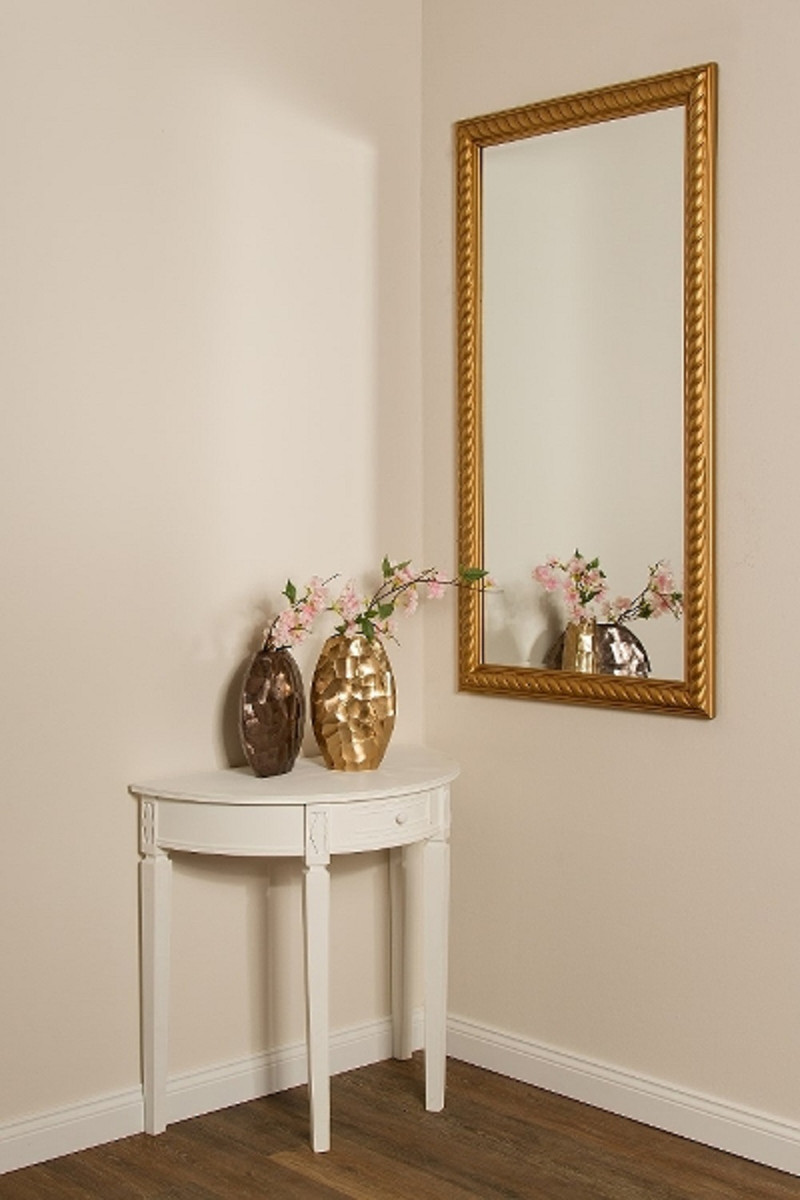 Casa Padrino Barock Wohnzimmer Spiegel Wandspiegel Antik Gold 72 X