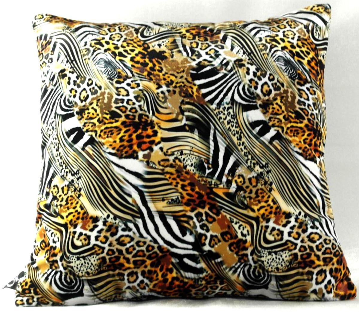 Luxus Cuscini.Casa Padrino Cuscino Decorativo Di Lusso Nevada Multicolore 45 X