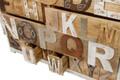 Casa Padrino Landhausstil Shabby Chic Kommode mit 12 Schubladen Antik Weiß / Mehrfarbig 115 x 40 x H. 90 cm - Landhausstil Möbel – Bild 6