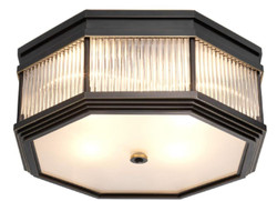 Casa Padrino luxury ceiling lamp bronze 40.5 x 40.5 x H. 18 cm - Luxury Collection