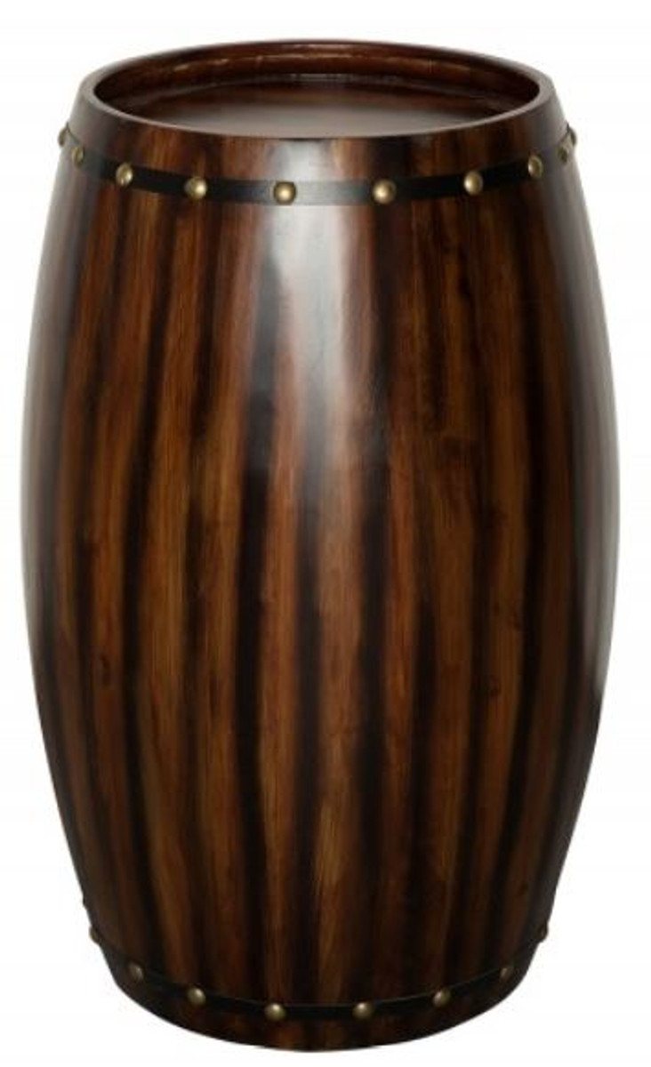 Meuble En Tonneau De Vin casa padrino bar bar à vin table de bar en bois de chauffage bois massif  pour 14 bouteilles maximum - tonneau en bois tonneau à vin mobilier de  grange