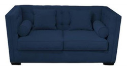 Casa Padrino Luxury Chesterfield Living Room Sofa Light Blue 180 x 100 x H. 85 cm - Couch / Sofa Bed With 4 Pillows