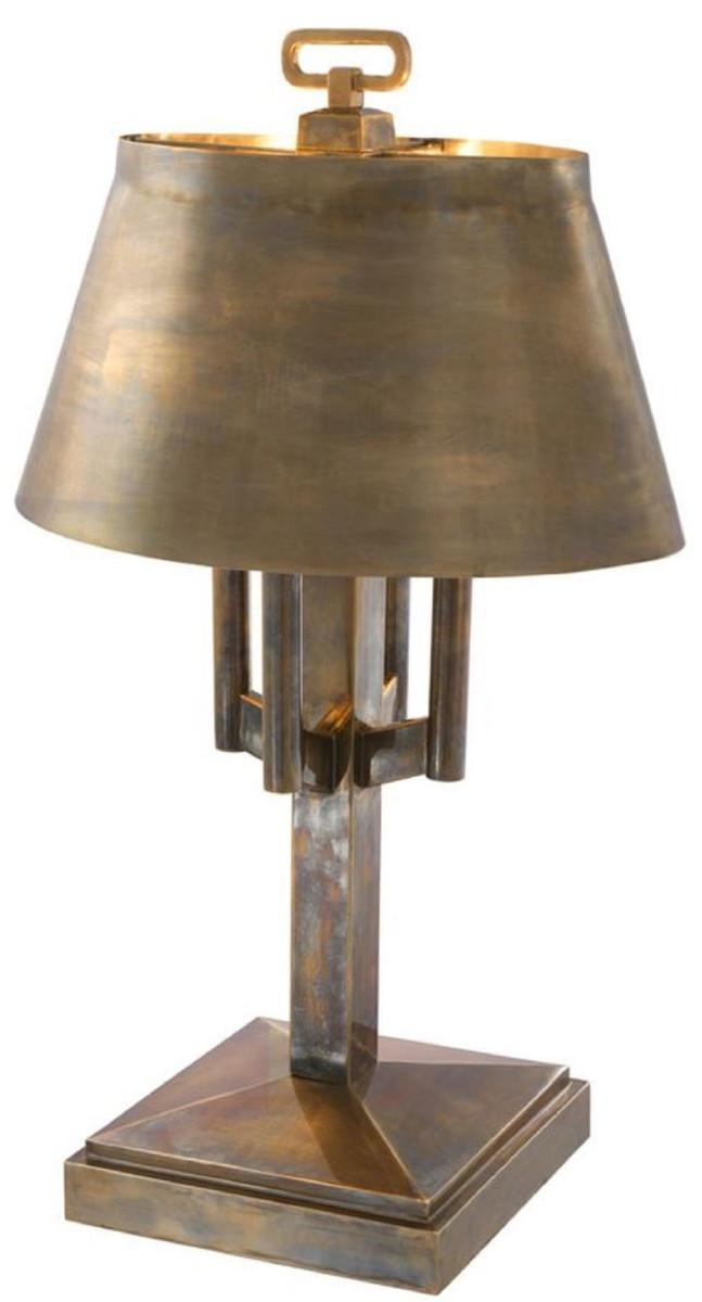 Casa Padrino Lampada Da Tavolo Di Lusso Ottone Vintage O 52 X H 85 Cm Lampada Da Tavolo Per Hotel E Ristorante Casa Padrino De