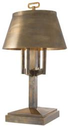 Casa Padrino luxury table lamp vintage brass Ø 52 x H. 85 cm - Hotel & Restaurant Table Light
