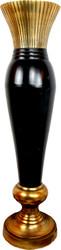 Casa Padrino Designer Vase Aluminum - Luxury Vase 111 cm