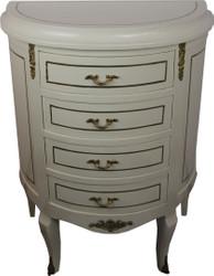 Casa Padrino Baroque Dresser Black / Gold Width 68 cm - Antique style furniture