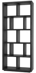 Casa Padrino luxury shelf cabinet / living room cabinet black 100 x 40 x H. 230 cm - Living Room Furniture