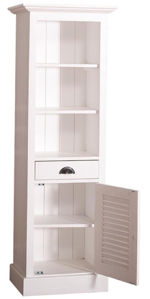 Casa padrino landhausstil badezimmerschrank mit t r und for Badezimmerschrank landhausstil