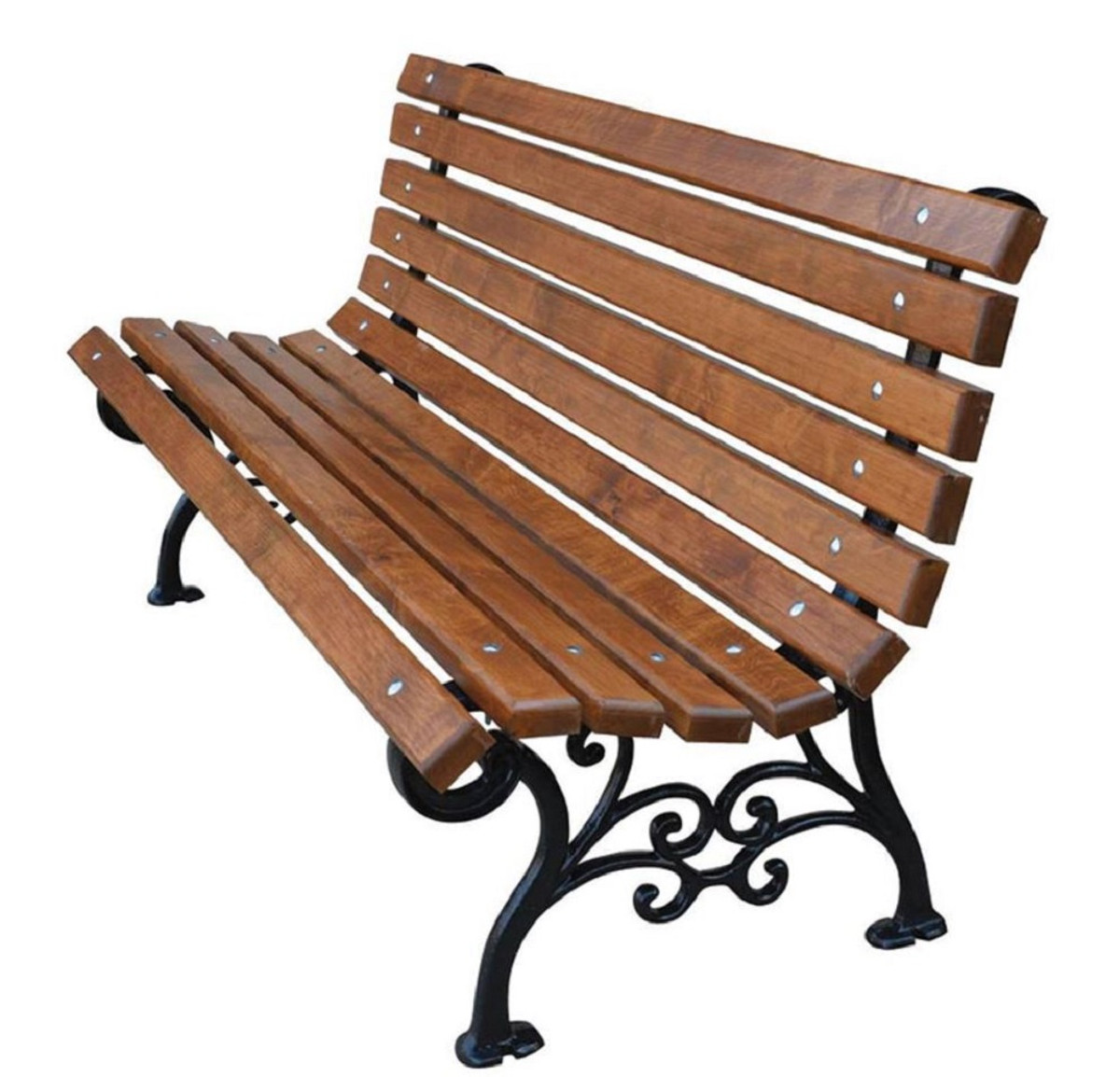 Astonishing Casa Padrino Art Nouveau Garden Bench Brown Black 150 X 42 X H 73 Cm Bench Park Bench Wooden Bench Garden Furniture Pabps2019 Chair Design Images Pabps2019Com