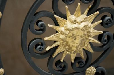 Casa Padrino Luxus Barock Konsole Weiß / Schwarz / Antik Gold 172 x 51 x H. 95 cm - Barockmöbel – Bild 6