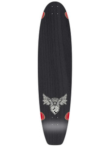 Flying Wheels Kicktail Longboard Deck 37 x 9.5 inch - Oldschool Longboard Deck