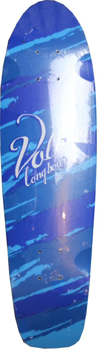 Voltage Skateboard Cruiser Deck Blue incl Griptape 28 x 7 75 inch - Old  school skateboard deck