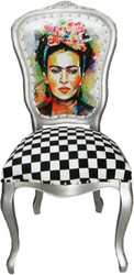 Casa Padrino Baroque luxury dining chair Madmoisell - Designer chair - Limited Edition
