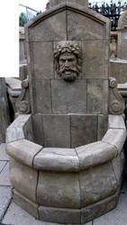 Casa Padrino Antique Style Stone Garden Fountain H100cm Neapel - Stone Fountain Baroque Art Nouveau Garden Decoration