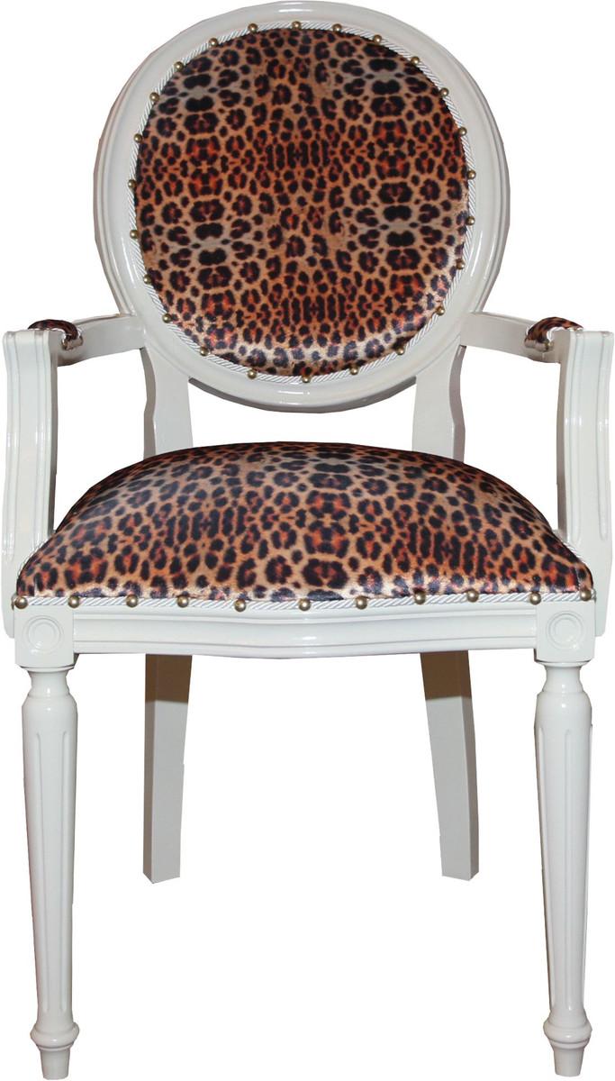 Meble do siedzenia Barock Sessel Stuhl antik Armlehnen Salon Gold Royal Luxus