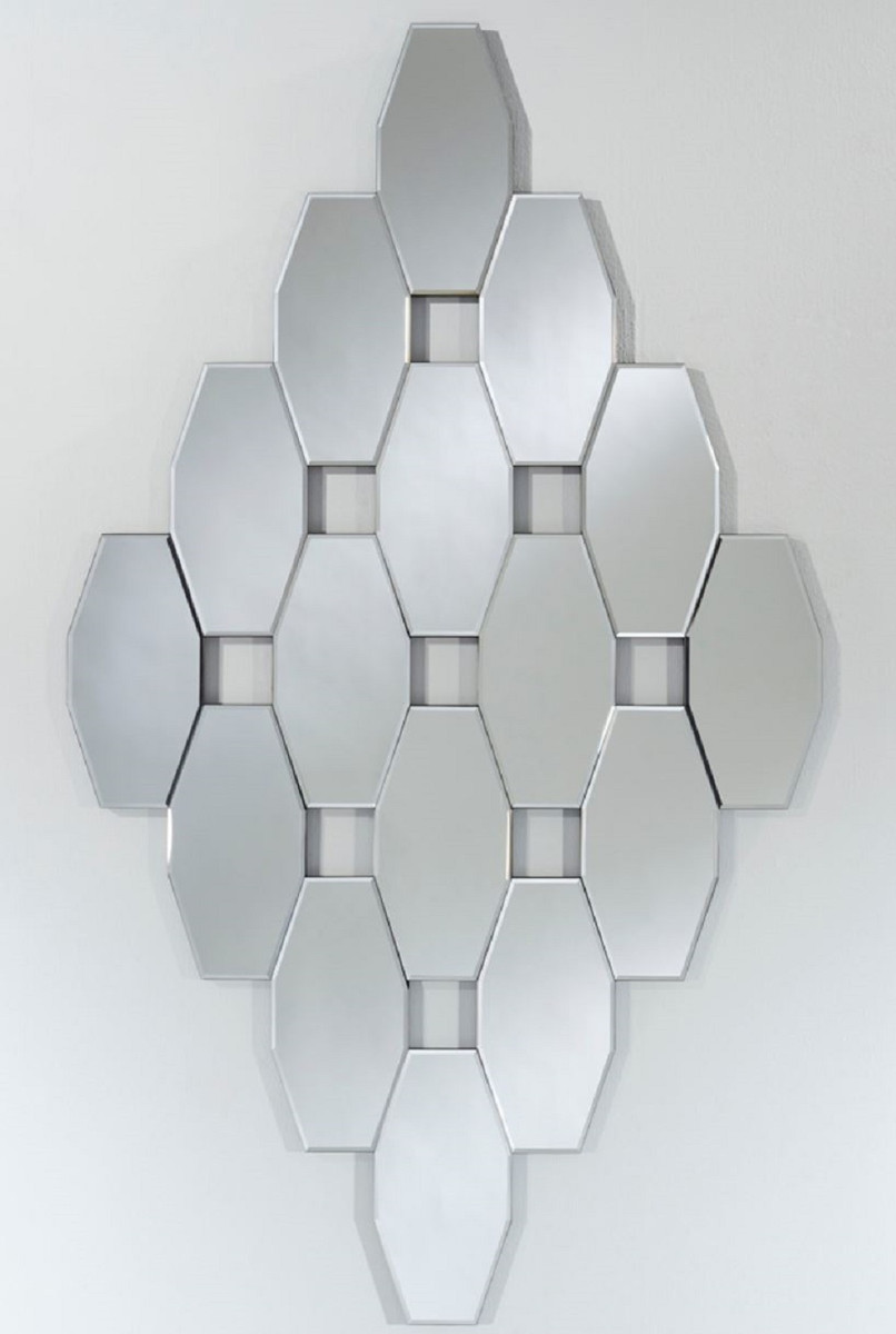 Casa Padrino Designer Wohnzimmer Spiegel / Wandspiegel 9 x H. 9 cm -  Luxus Deko Accessoires  Ceres Webshop