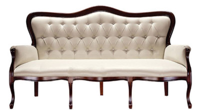 Luxury Baroque Chesterfield Sofa Beige