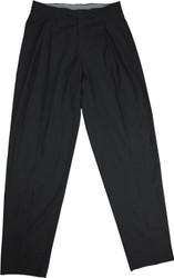 Il Padrino Moda luxury pleated trousers Eleganto Collection 2019 Black
