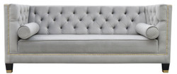 Casa Padrino Luxury Chesterfield Living Room Sofa 200 x 84 x H. 83 cm - Various Colors - Luxury Furniture
