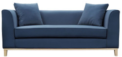 Casa Padrino Luxury Sofa with Pillows 202 x 84 x H. 84 cm - Various Colors - Hotel Furniture